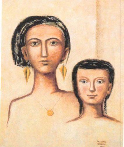 Massimo Campigli Madre e Figlia Amedeo Porro Fine Arts