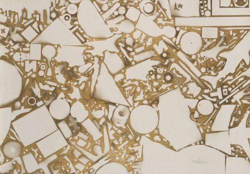 Alighiero Boetti Senza Titolo 1981 ca. Amedeo Porro Fine Arts